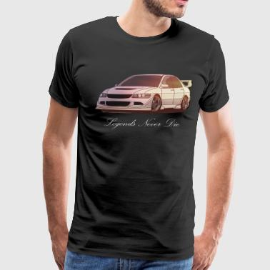Evo Mitsubishi Evolution - Men's Premium T-Shirt