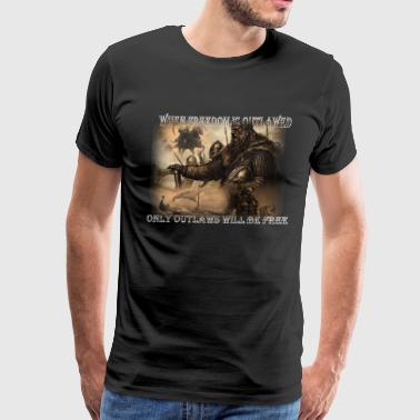 outlaws - Men's Premium T-Shirt