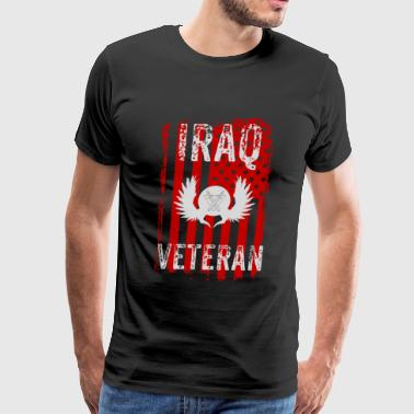 Iraq Veteran, Iraq War, Veteran Gift - Men's Premium T-Shirt