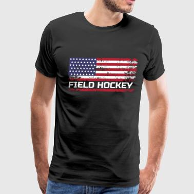 USA Field Hockey, USA Field Hockey Gift, Field Hockey Gift - Men's Premium T-Shirt