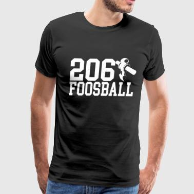 206 Foosball Table Soccer Fan - Men's Premium T-Shirt