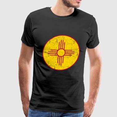 New Mexico State Flag Pride - Men's Premium T-Shirt