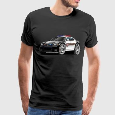 Dodge Charger Police Car - Men's Premium T-Shirt