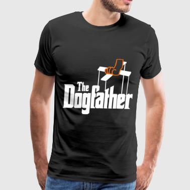 The Dogfather! - Men's Premium T-Shirt