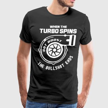 TURBOCHARGER TURBO SKYLINE NISSAN MUSCLE CAR - Men's Premium T-Shirt