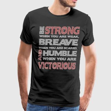 America Strong be strong - Men's Premium T-Shirt