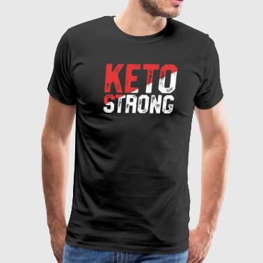 Fueled By Ketosis Funny Keto Shirt For Women - Men's Premium T-Shirt