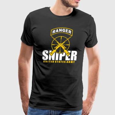 Ranger Army Team Sniper - Men's Premium T-Shirt