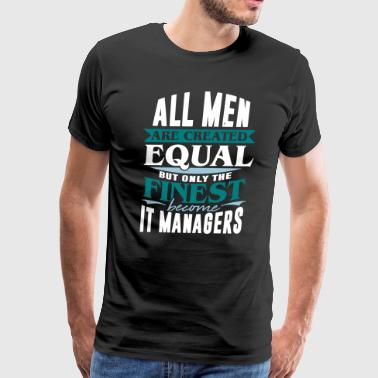 it manager information technology internet pc - Men's Premium T-Shirt