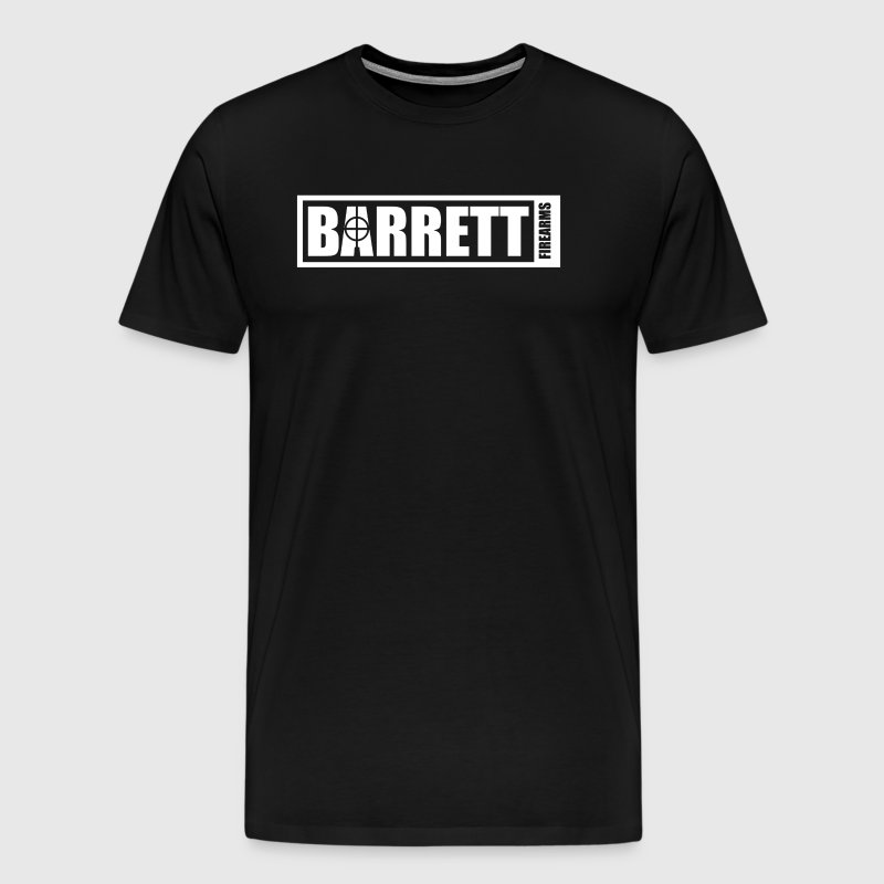 Barrett Sniper Rifle Firearms - Men's Premium T-Shirt