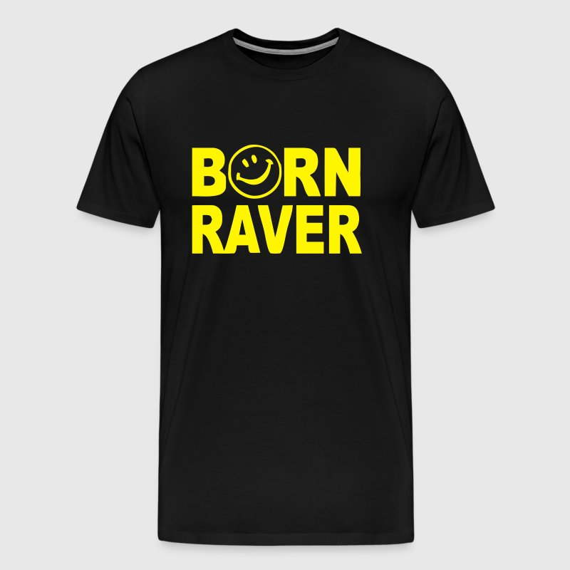 Born Raver - Men's Premium T-Shirt