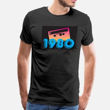 1980 Year 1980 - Men's Premium T-Shirt