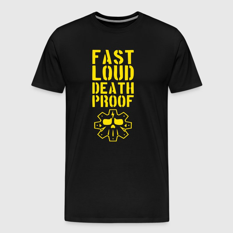 Fast loud death proof - Men's Premium T-Shirt