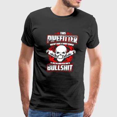 Pipefitter Shirts - Men's Premium T-Shirt