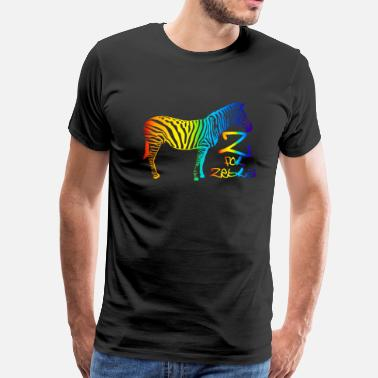 Z House Z for Zebra - Men's Premium T-Shirt