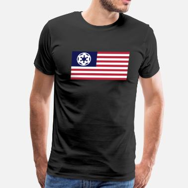 Imperialism Imperial USA (Star Wars) - Men's Premium T-Shirt