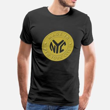New York City Made In New York City - Men's Premium T-Shirt