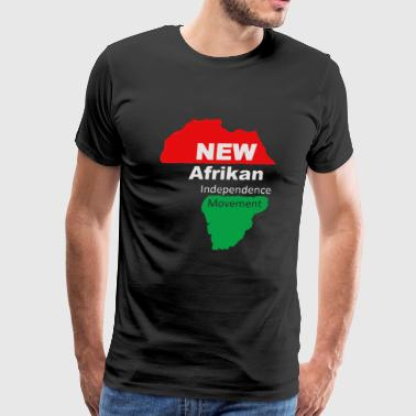 We of the New Afrikan Independence Movement - Men's Premium T-Shirt