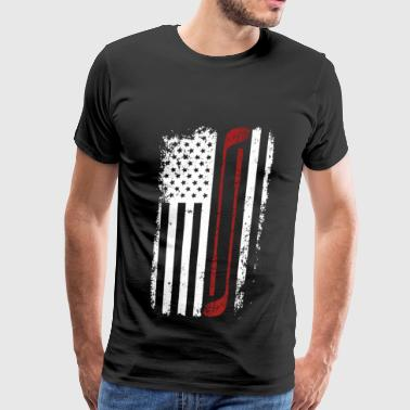 Golf - Cool flag t-shirt for american golf lover - Men's Premium T-Shirt
