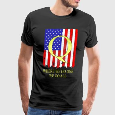 Where we go one 2 - Men's Premium T-Shirt
