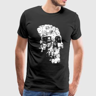 Horror Skull - Men's Premium T-Shirt