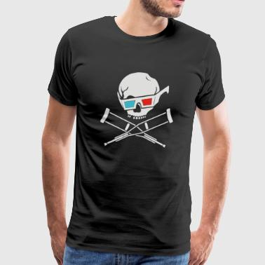 Jackass 3D original - Men's Premium T-Shirt