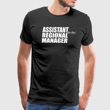 Assistant To The Regional Manager - Men's Premium T-Shirt