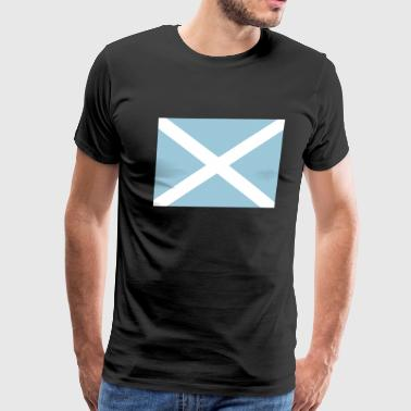 Scottish Flag - Men's Premium T-Shirt