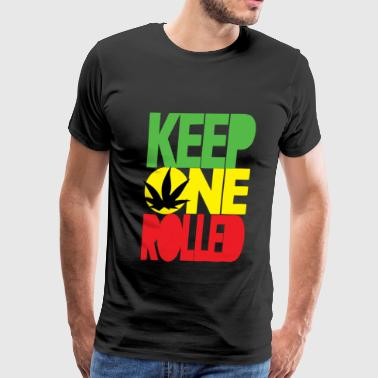 keep one rolled - Men's Premium T-Shirt