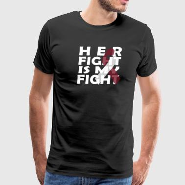 Fck Cancer Shirt head and Neck cancer - Men's Premium T-Shirt