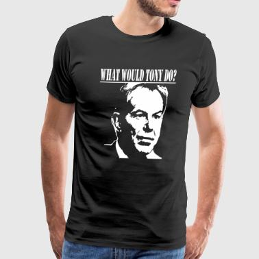 Tony Blair Homage - Men's Premium T-Shirt