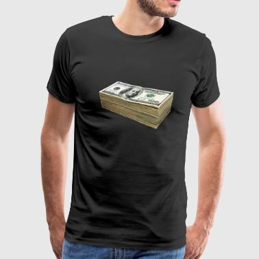 100 Dollars - Men's Premium T-Shirt