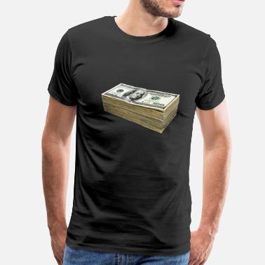 Dollar Bill 100 Dollars - Men's Premium T-Shirt
