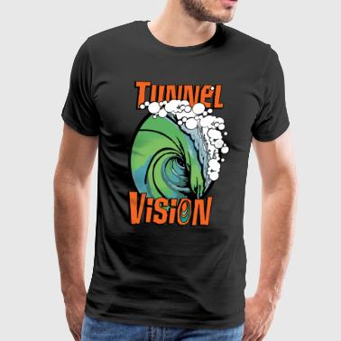 Tunnel Vision Band T-Shirt - Men's Premium T-Shirt