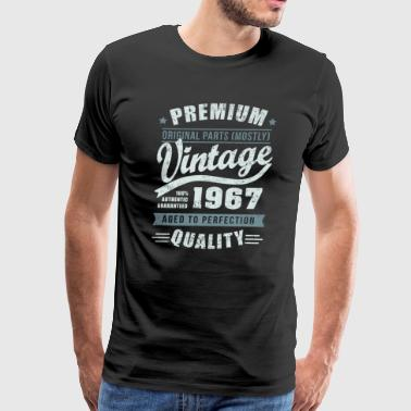 Birthday 1967 Aged to perfection - Men's Premium T-Shirt
