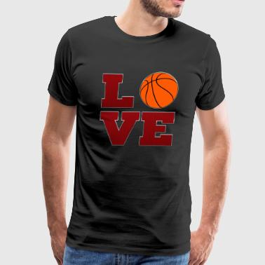 Love Miami Heat Basketball - Men's Premium T-Shirt