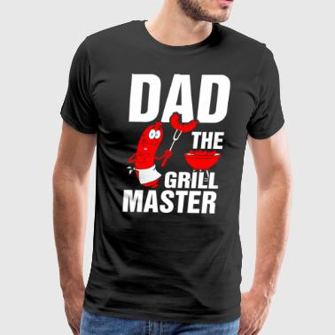 Dad the Grill Master - Men's Premium T-Shirt