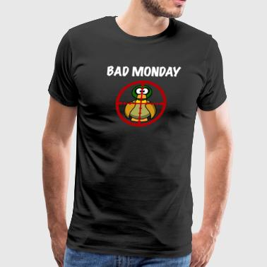 Bad Monday Duck - Men's Premium T-Shirt