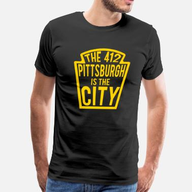 Pittsburgh Funny Pittsburgh - Men's Premium T-Shirt