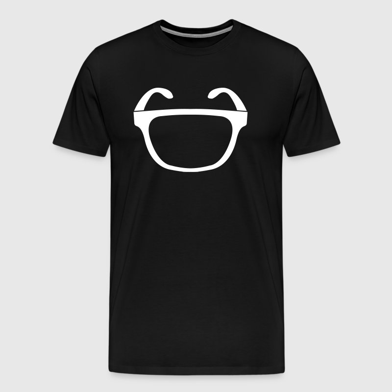 Einaugen Cyclops glasses - Men's Premium T-Shirt