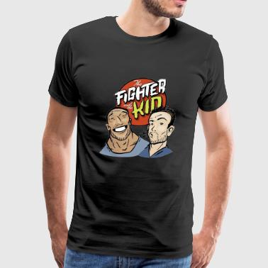 Fighter And The Kid The fighter and the kid - Men's Premium T-Shirt