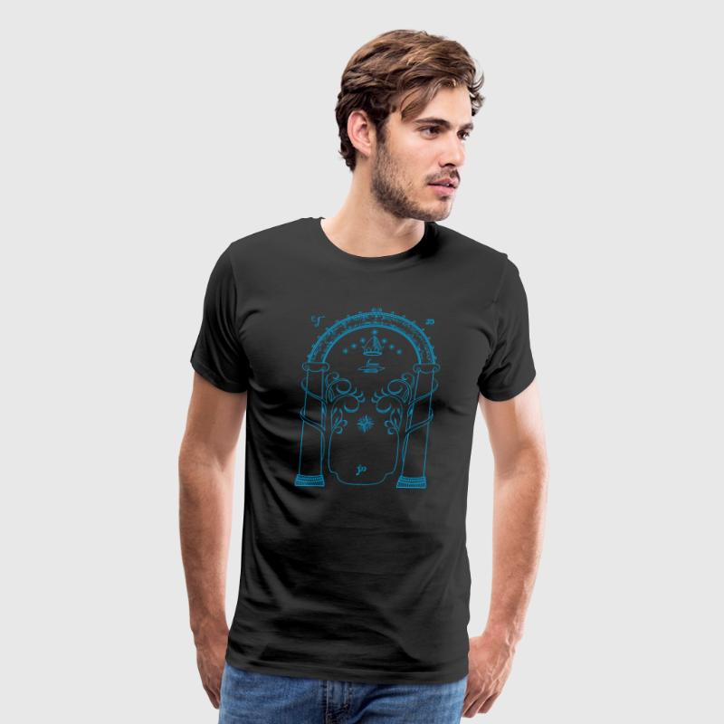 The doors of Durin - Men's Premium T-Shirt