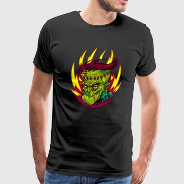 FUNKENSTEIN HORROR - Men's Premium T-Shirt