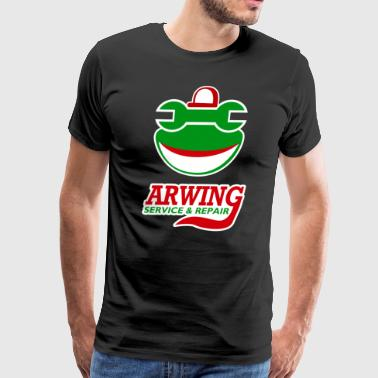 Arwing Service and Repair - Men's Premium T-Shirt