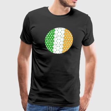 Soccer Flag Ireland - Men's Premium T-Shirt