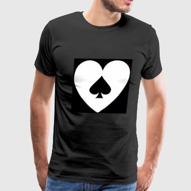 Ace Heart - Men's Premium T-Shirt