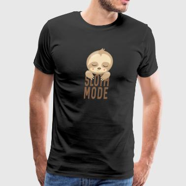 Sloth Mode - Men's Premium T-Shirt
