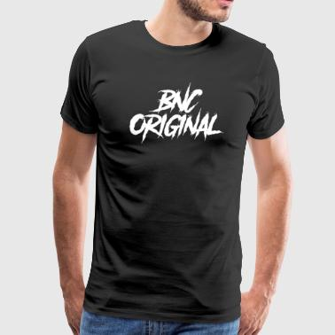 Bnc BNC Original (Danger/White) - Men's Premium T-Shirt