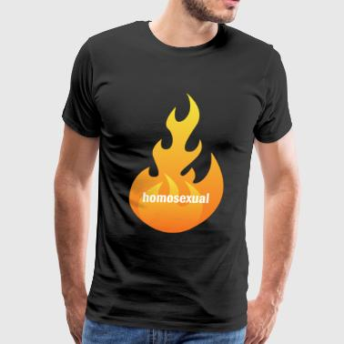 flaming homosexual - Men's Premium T-Shirt