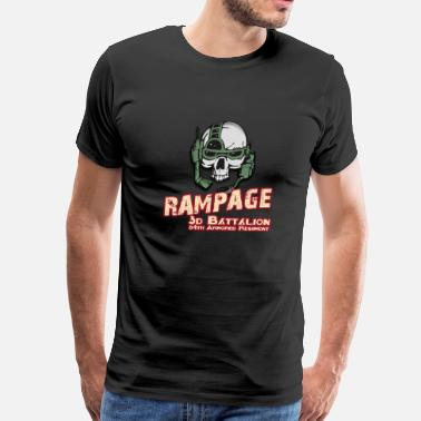 64th Armor Rampage 3/64 Armored Regiment - Men's Premium T-Shirt